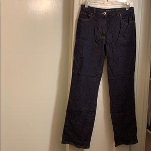Ann Taylor Stretch dark blue denim jeans, size 6A